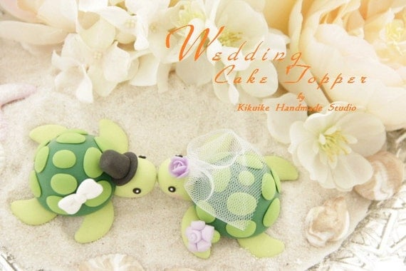 turtle wedding cake toppers turtles wedding cake topper for 1 pairk616 21320