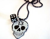 LUCKY 13 Guitar Pick Necklace