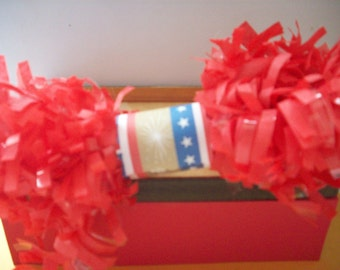 Red Tissue Garland