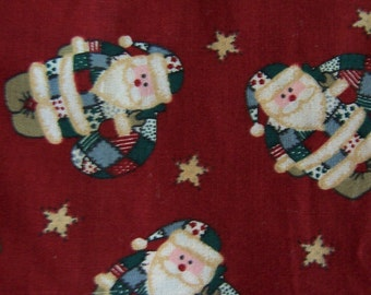 Santa fabric 1 1/3 yards