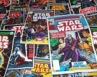 Star Wars Comic Book Fabric By The Yard FBTY