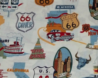 Alexander Henry Route 66 Fabric By The Yard