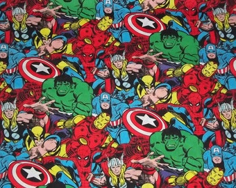 Reserved listing Marvel Comic SuperHero Fabric 7 yards