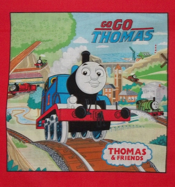 Thomas and Friends Fabric Book Panels