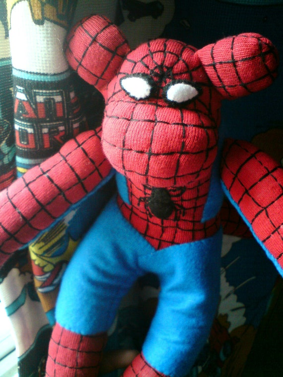 Spider-man Sock Monkey