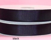 5/8 x 50 yds GROSGRAIN RIBBON - BLACK