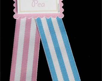 3 yds of 7/8 inch Stripe Grosgrain- Your Choice of 2 Colors