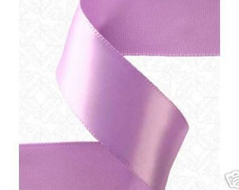 7/8 x 25  yds ORCHID Satin Ribbon