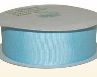 1.5 inch x 50 yds grosgrain ribbon - LIGHT BLUE