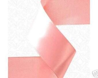 5-8 inch x 100 yds Single Face Satin Ribbon -- LIGHT PINK