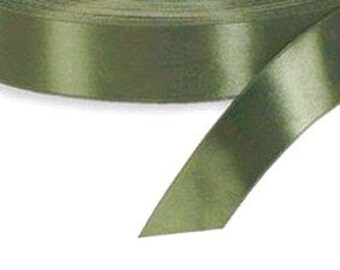 7/8 x 100 yd Single Face Satin Ribbon --- Old Willow