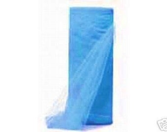 54 inch x 50 yds Top Quality (Made in the USA) Tulle Bolt- FRENCH BLUE