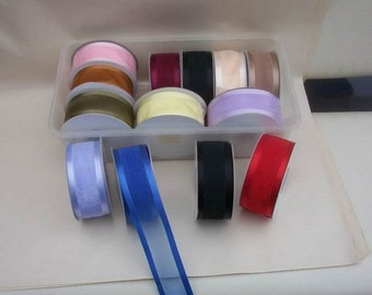 750 FT of 1.5 inch x 25 yds Satin Edge Organza Ribbon