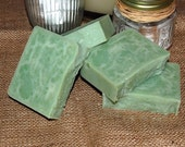 Green Clover and Aloe (BBW Type) Cold Process Soap