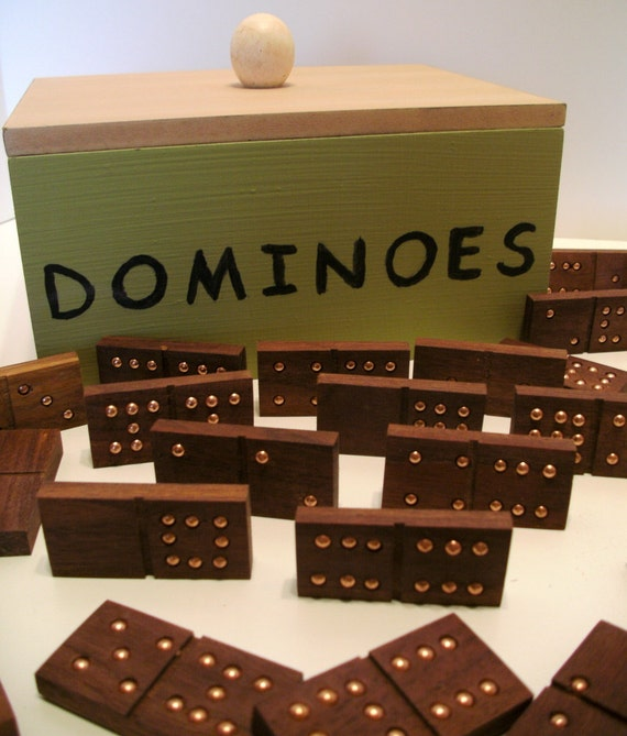 handmade dominoes handmade dominoes of black walnut wood 9 in wooden 5273