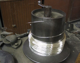 FREE Shipping 10 Ft 21G Sterling Silver Round Wire  HH ( 1.80/Ft With Free Shipping )
