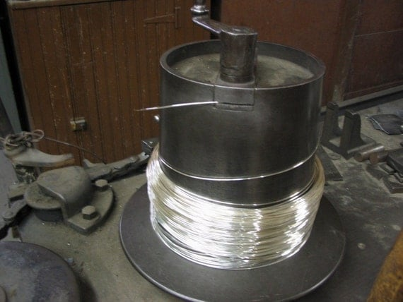20 FT 28G Sterling Silver Round Wire HH (.65/FT Includes Shipping)