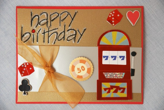 las vegas football gambling cards birthday
