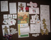 The Gingerbread Man Math and Literacy Theme Unit