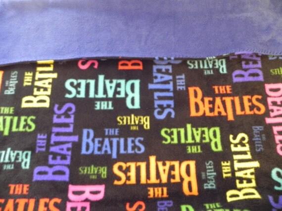 Beatles Inspired Fleece Blanket