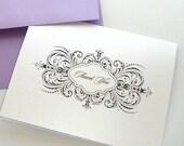 Thalia style Thank you cards - Wedding Thank you cards - Wedding stationery - Wedding Gift - 25 Pack