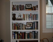 RESERVED FOR KATE Spruced up Antique Bookcase
