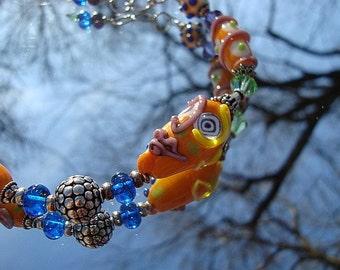Handmade Party Girl Bracelet
