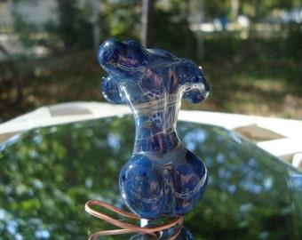 Handmade Borosilicate Glass Goddess