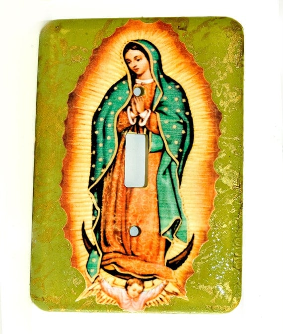 Our Lady of Guadelupe Switchplate