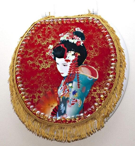 Geisha Girl Toilet Seat