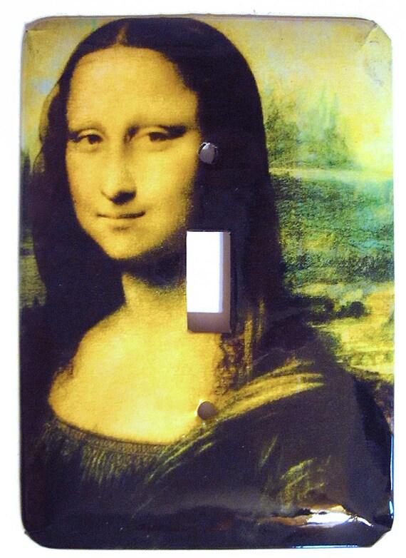 Mona Lisa Switchplate