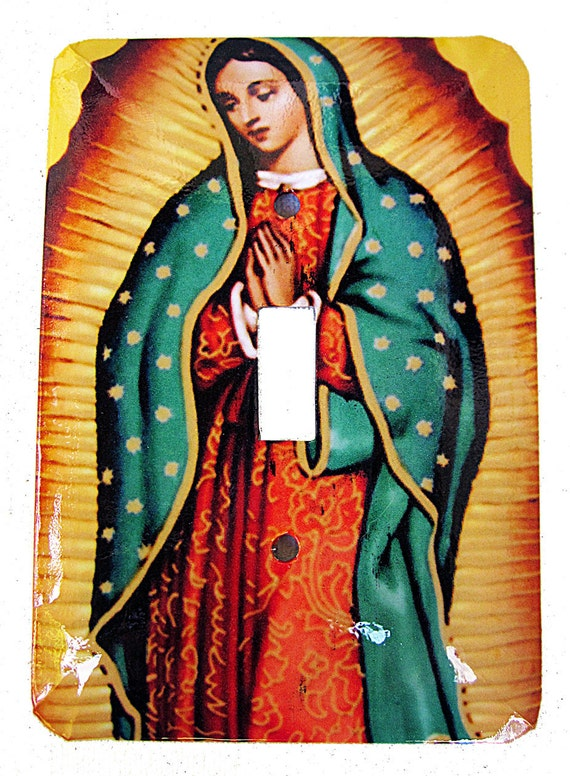 Our Lady of Guadelupe Redux Switchplate