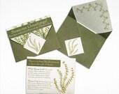 Thyme Seed Packet - Seasons Greetings