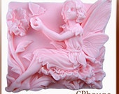 Fairy  Pavlana Silicone Soap Mold - free shipping