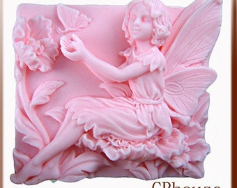 Fairy  Pavlana Silicone Soap Mold - free shipping