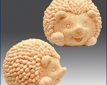 Silicone Soap n Candle Mold 3D Hedgehog baby
