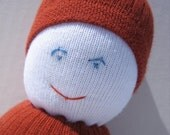 Orange Sock Buddy