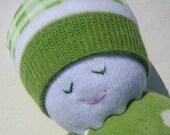 Sock Buddy (green dots)