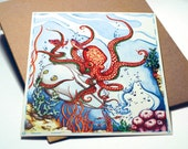 The Octopus and The Submarine print