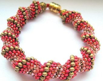 scarlett beadwork bracelet