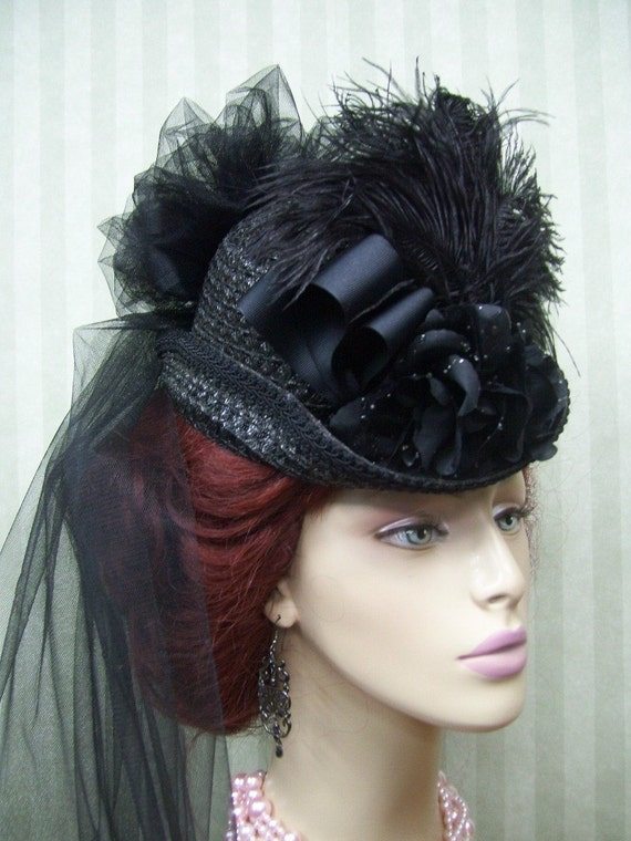 ladies victorian hats - photo #10