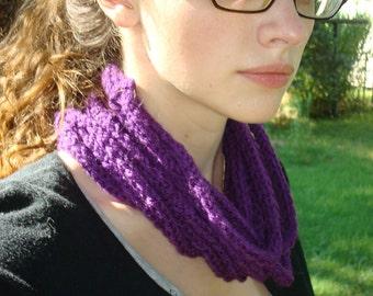 purple chain cowl
