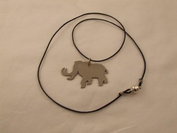 Woolly Mammoth Pendant