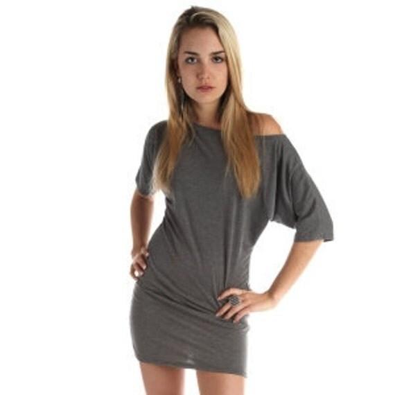 Womens Dress Off The Shoulder Signature Lamixx grey