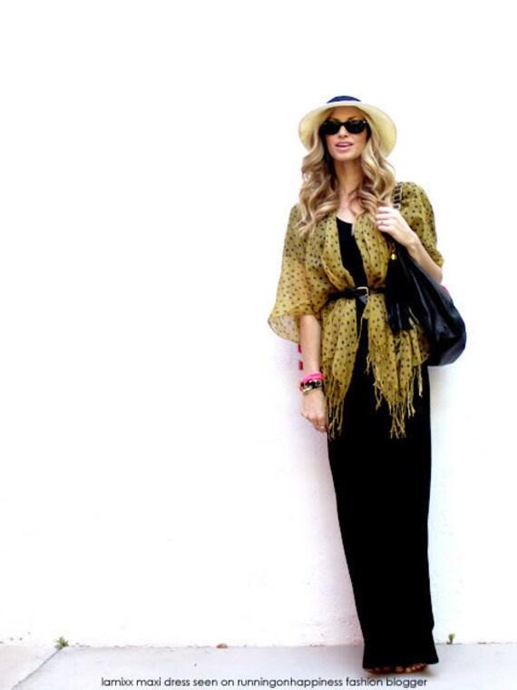 Maxi Long Dress - Womens Clothing Black Dresses