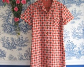 Vintage double knit Dress