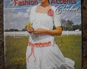 Crochet Booklet by Leisure Arts Features Eleven Fun Easy Misses Small Accessory Projects