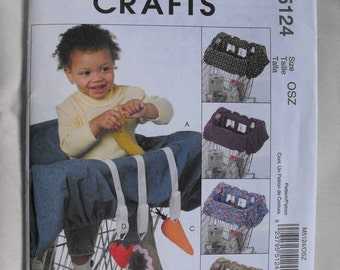 McCalls Pattern 5124 - Grocery Cart Liner and Three Toys for Baby