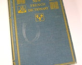 Vintage Heath's New French Dictionary, French-English, English-French, 1932    (256-12)