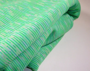 Vintage Green Fabric, Sewing Supply (988-11)